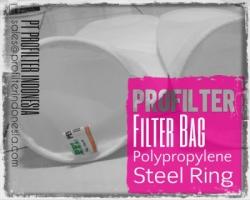 Filter Bag Polypropylene SS Steel Ring Indonesia  large