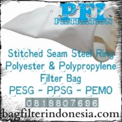 Filter Bag Steel Ring Polyester Polypropylene Bag Filter Indonesia  large