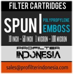 PFI Spun PP Emboss Sediment Cartridge Filter Indonesia  large