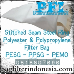 d d Filter Bag Steel Ring Polyester Polypropylene Bag Filter Indonesia  large