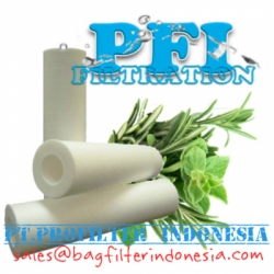 d d d d d PFI cartridge filter emboss 1 5 10 micron spun bonded 40 30 20 10 inch filter indonesia  large